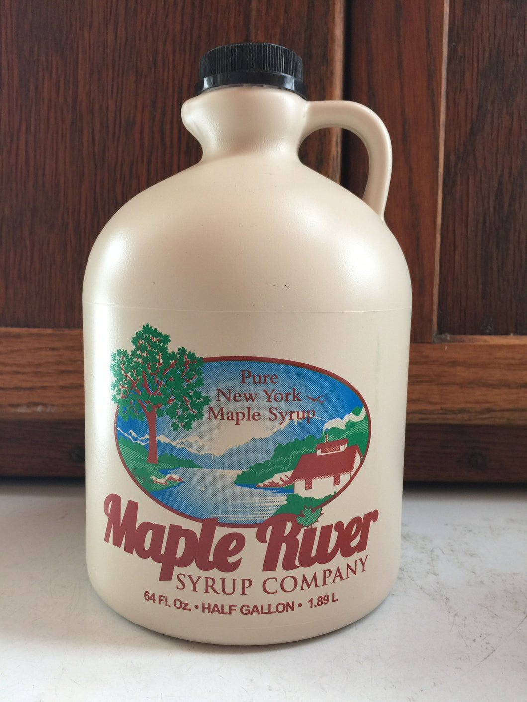 Pure Maple Syrup - Half Gallon Jug