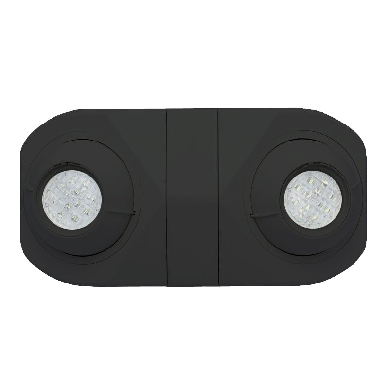 LED Emergency Spot Black Short Body