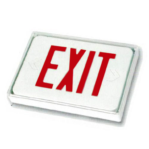 Low Level Sign itself Exit Sign - Red Lettering