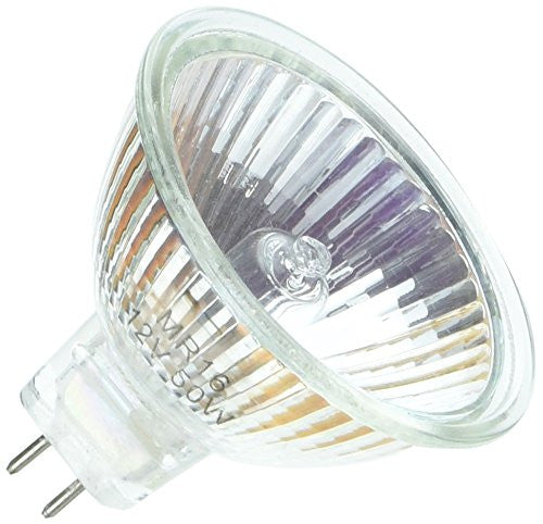 (10 Pack) MR112 Halogen Light Bulb 12V 50W, Long Life Clear