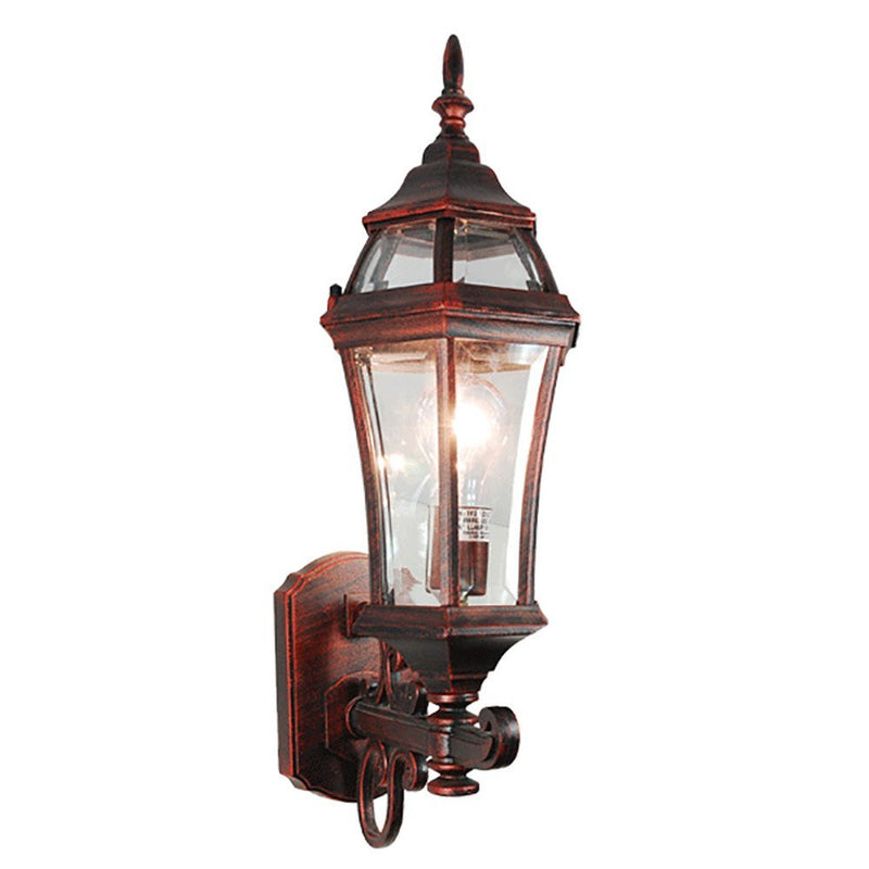 eTopLighting La Maison Collection Outdoor Lantern with Beveled Glass