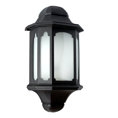 Vivian Collection Wall Lantern Outdoor with Frost Glass