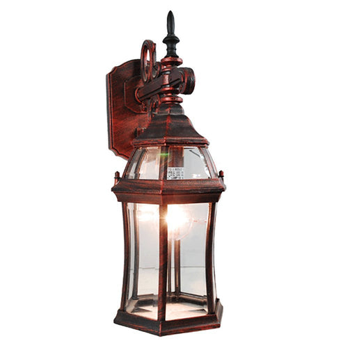 03_La Maison Collection Outdoor Lantern with Beveled Glass