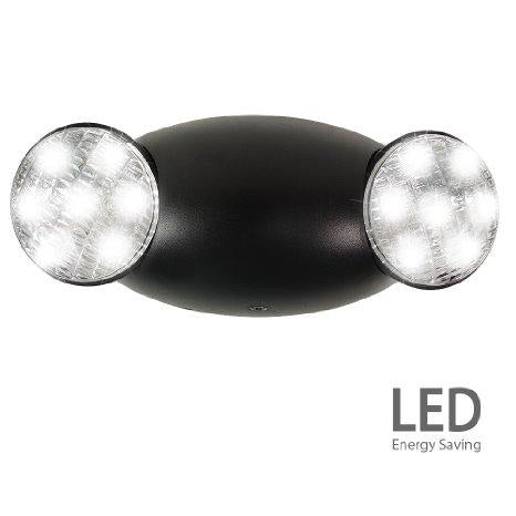 LED Bug Eye LED Spot Light Emergency Light - Black