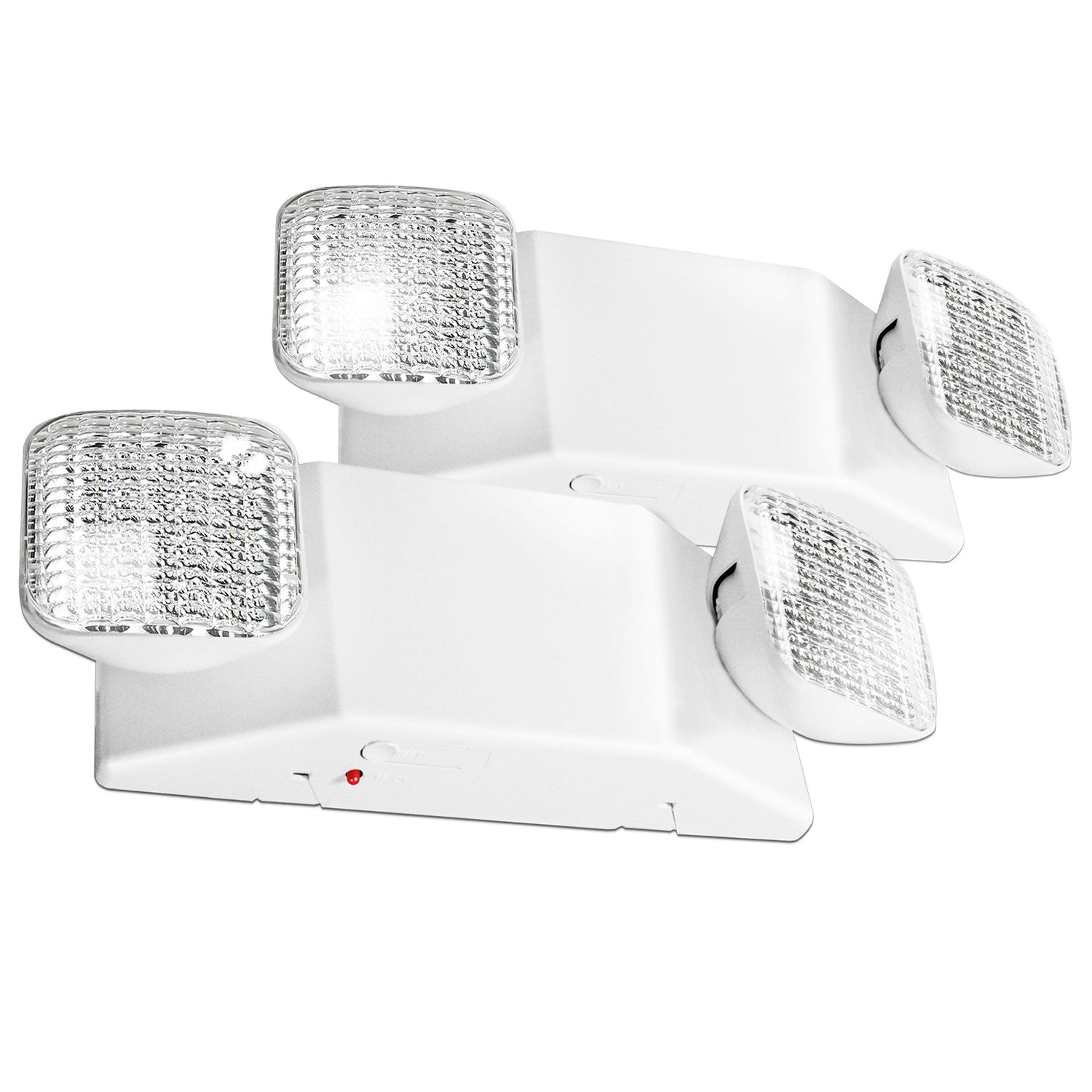 Etoplighting 2pcs x led emergency exit light fixture standard square head ul924 agg2460