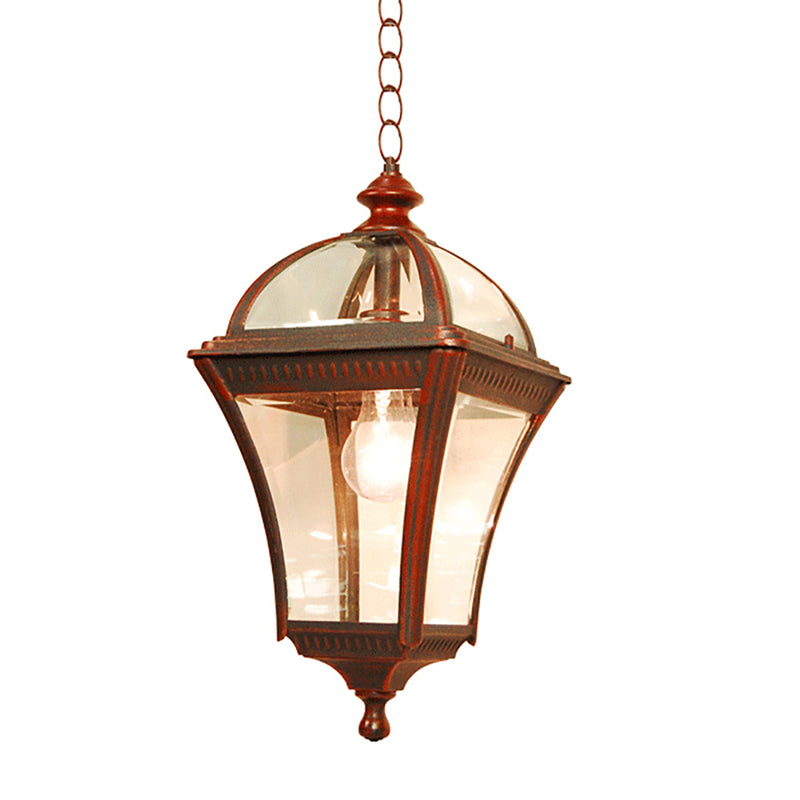 Le Affinage Collection Lantern Light Beveled Glass, Pendant