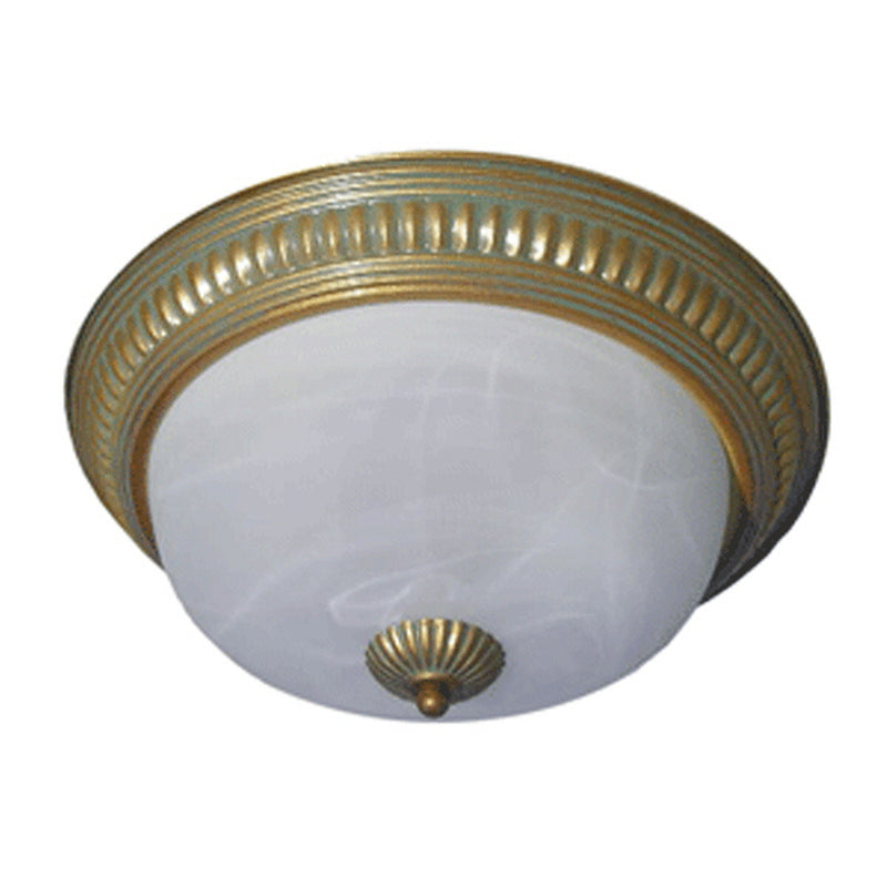 Valentina Collection Modern Ceiling Light, ??White Alabaster Glass