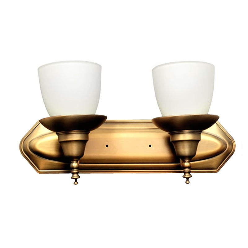 Chandelle Collection Candle Vanity Light, 2-Light