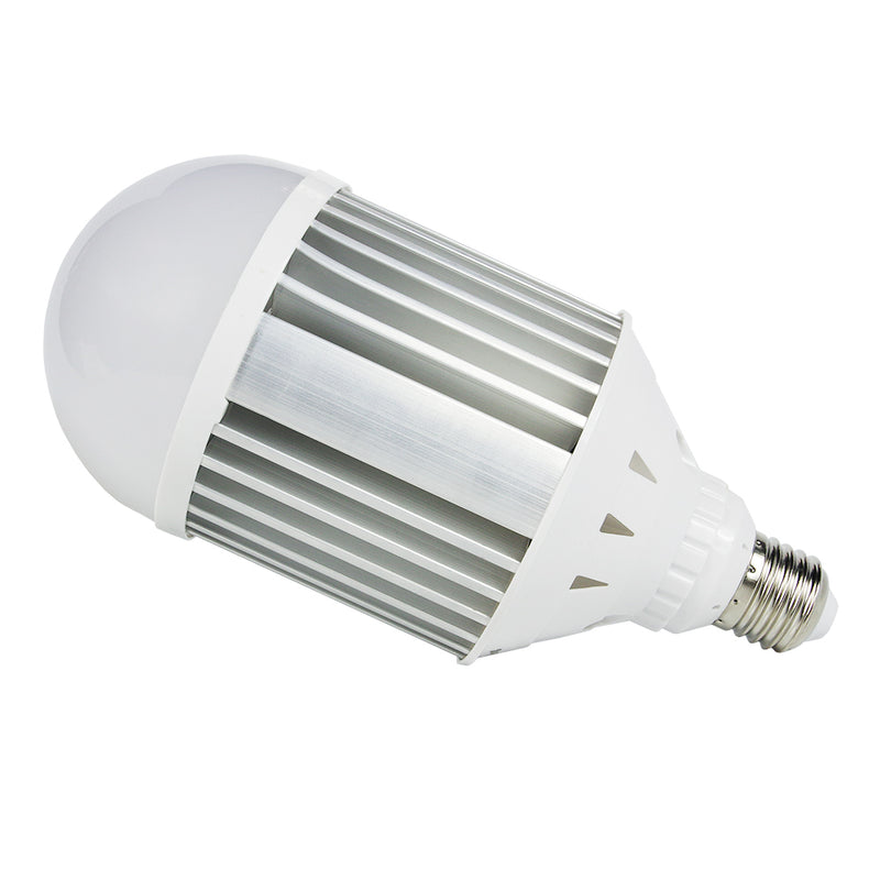 eTopLighting Large Mega-Bright 30W LED Light Bulb Edison E26/E27 with Aluminum Heat Vents for Use in Work Sites, Garages, Security Lights, 5500K Day Light, APL1462
