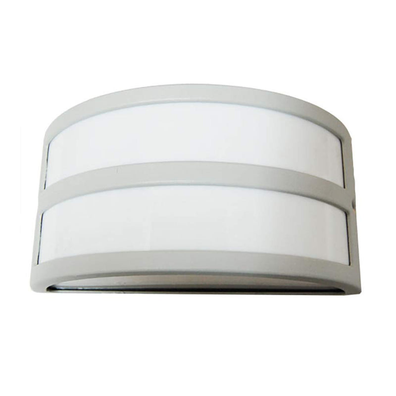 CLEARANCE TP Lighting One-Light Outdoor White Exterior Wall Mount Lamp Fixture, SRE1389