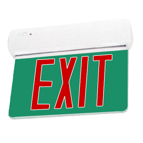Edgelite Collection Easy Snap Series Exit Sign - Red Lettering