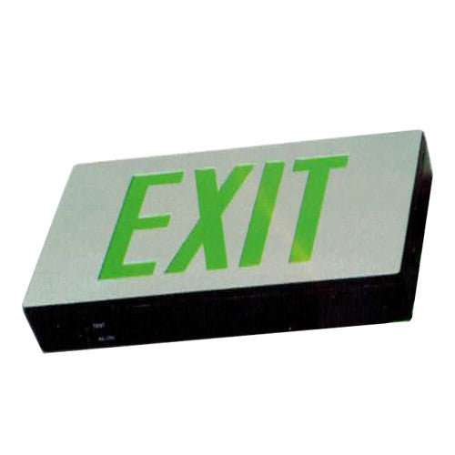 Low Level Exit Sign, MS series, Silver finish