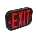 Black Body Red Letter SMD LED Exit Sign