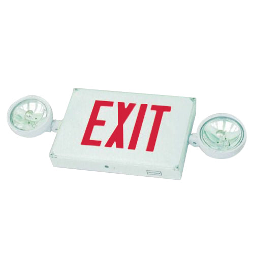 Outdoor Combo Exit Sign PAR36 - Red Letters