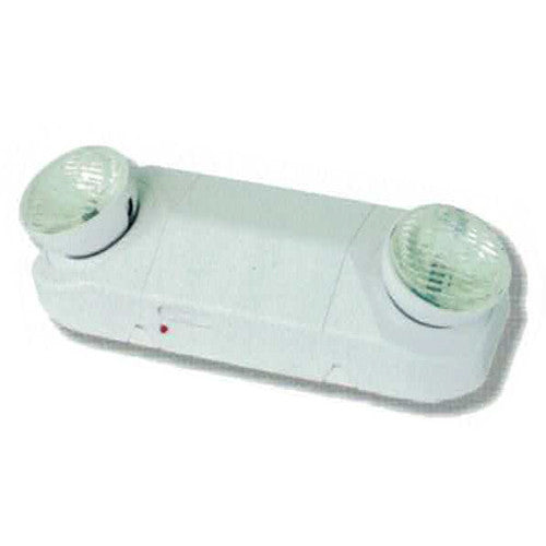 High Capacity Emergency Lighting, Round Head 18W Series, White Finish