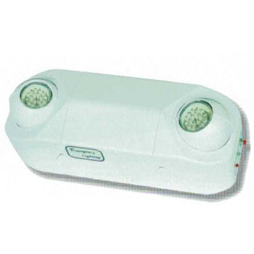 High Capacity Emergency Light, 35W series, White Finish