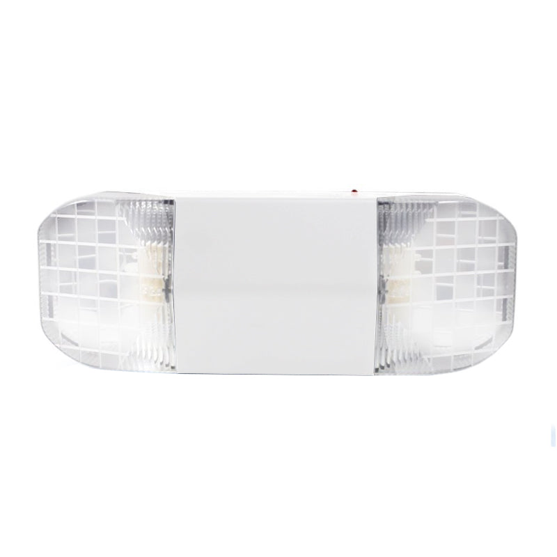 Beveled Series Emergency Lighting Unit - White