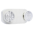 LED Standard Emergency Unit with Round Lights - White Short Body