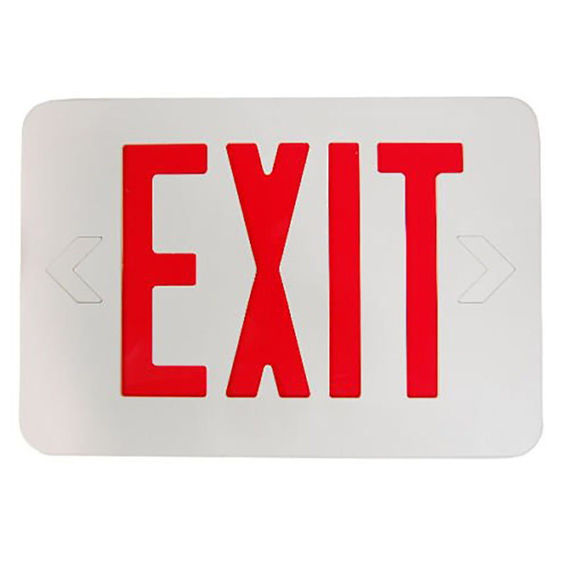 LED Exit Sign Light-Red Letter