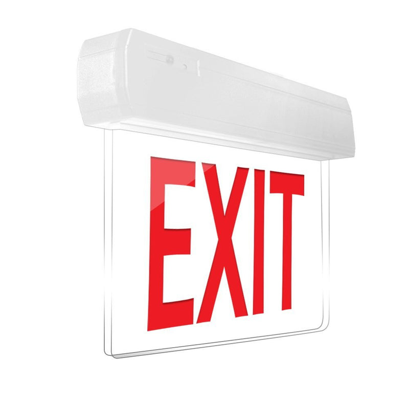 Easy Snap Series Edgelite Exit Sign
