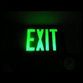 LED Exit Sign Light-Green Letter