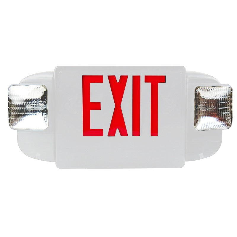 Deluxe & Architecture Series Emergency Light Combo/ Square Lights