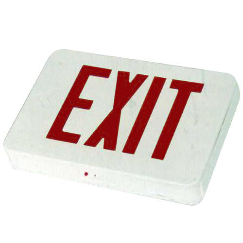 Low Level Exit Sign, MS series - Red Lettering