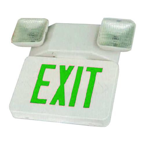Classical Series LED Exit Emergency Combo Light, Square Lights