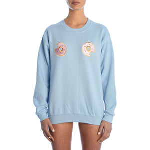 Donuts Sweater Light Blue