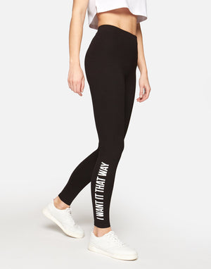 Leggings Nero