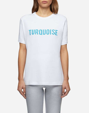 T-Shirt Colore Turquoise