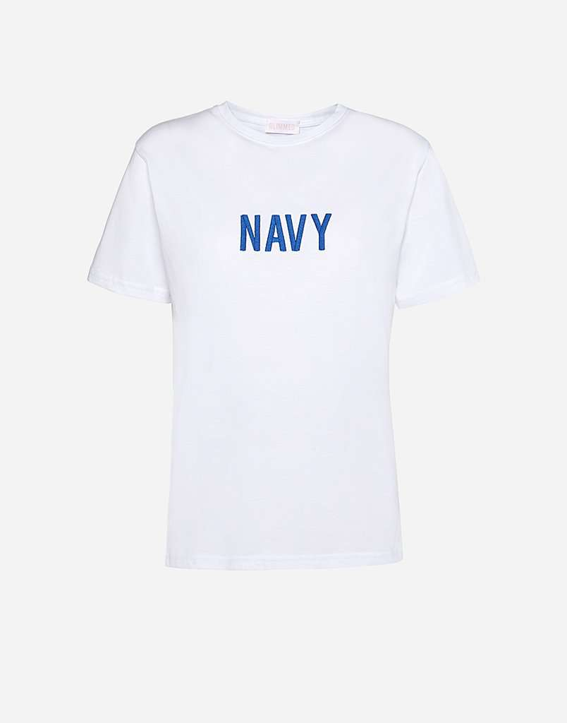 T-Shirt Colore Navy