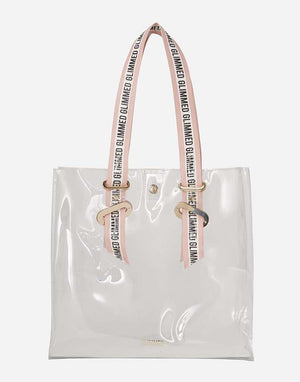 Jane Shopper Bag Trasparente