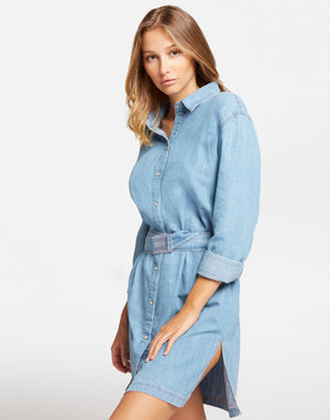Maxi Camicia in Denim