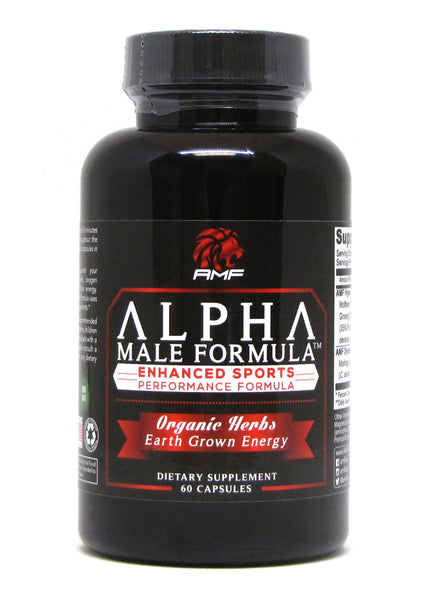 Alpha Male Formula PreWorkout Natural Energy Pill (INTERNATIONAL ORDERS ONLY)