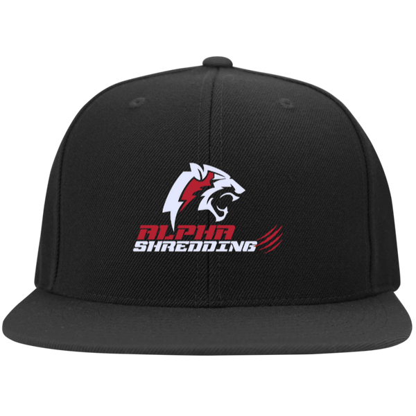 Official Alpha Shredding Snapback Hat