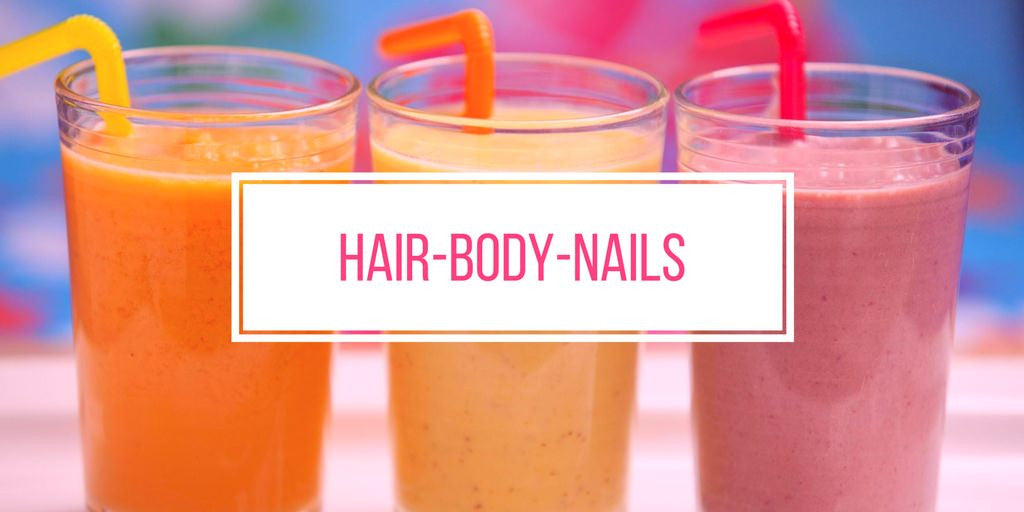 protein shake for hair body nails