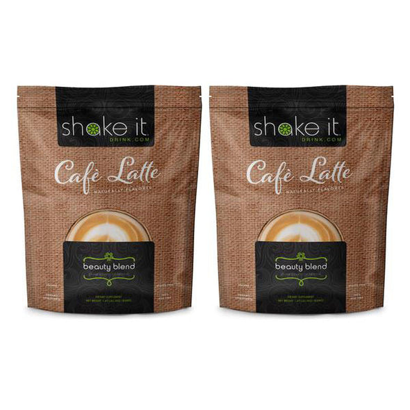 "Vegan 2 pack ""Beauty Blend"" Protein from Shake It Health and Beauty"