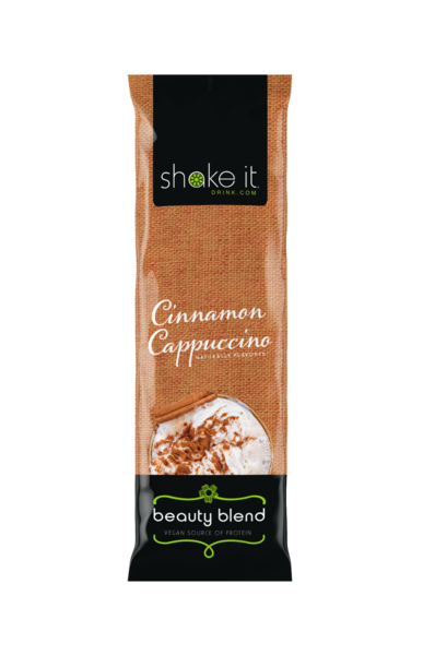 Cinnamon Cappuccino - Maca Infused, Vegan Protein Powder (5 Pack)