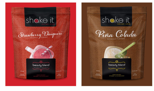 Shake It Whey Beauty Blend Protein 2 Pack with Collagen!