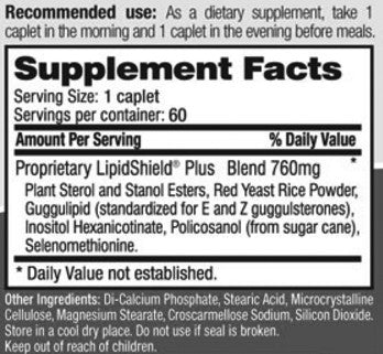 LipidShield Ingredients