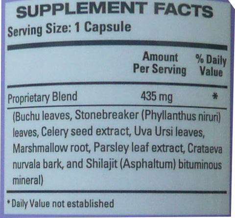 Vesipur Ingredients