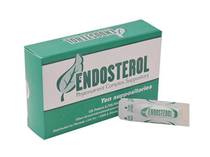 Endosterol (10 Suppositories)