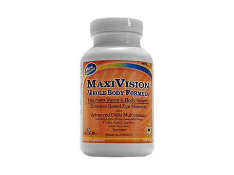 MaxiVision Whole Body Formula (120 Capsules)