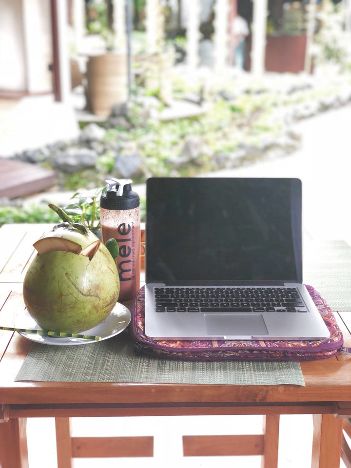HOW THIS DIGITAL NOMAD STAYS BALANCED