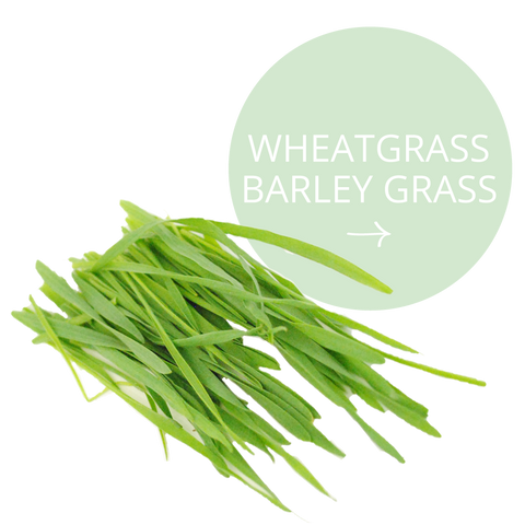 Realm All Natural Ingredients - Wheatgrass Barley Grass