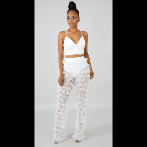 Sparkle the night away white set