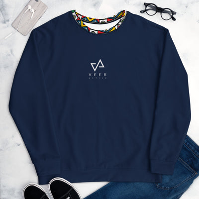 Adamu Ultra Premium Sweatshirt in Navy - Veer Active