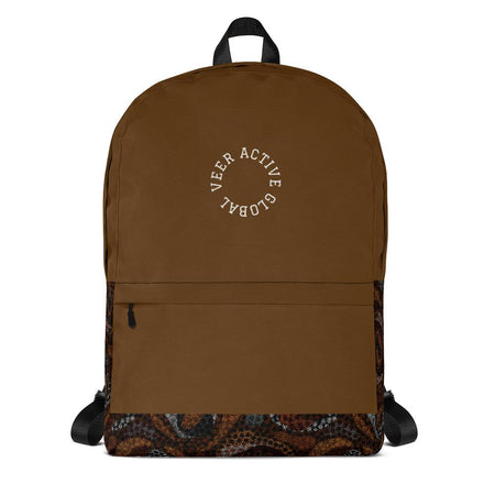 Barak Functional Premium Backpack in Brown - Veer Active