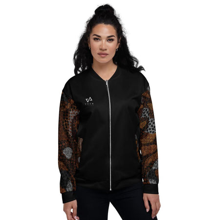 Kenya Bomber Jacket in Black - Veer Active